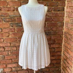 White eyelet dress. EUC. Shoshanna. Size 6